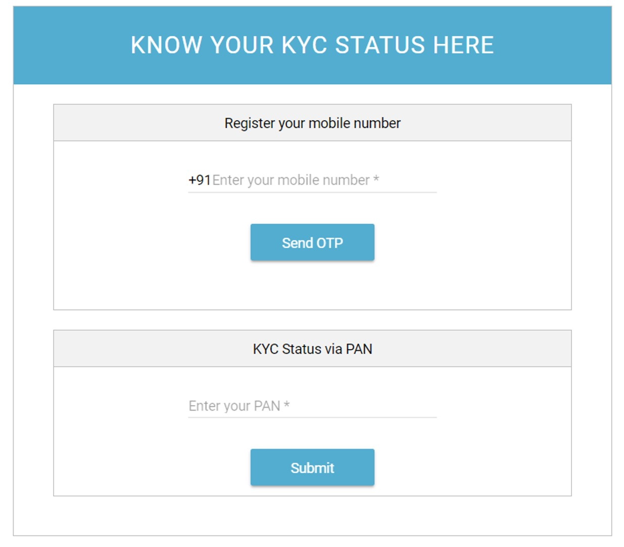 how to get kyc number